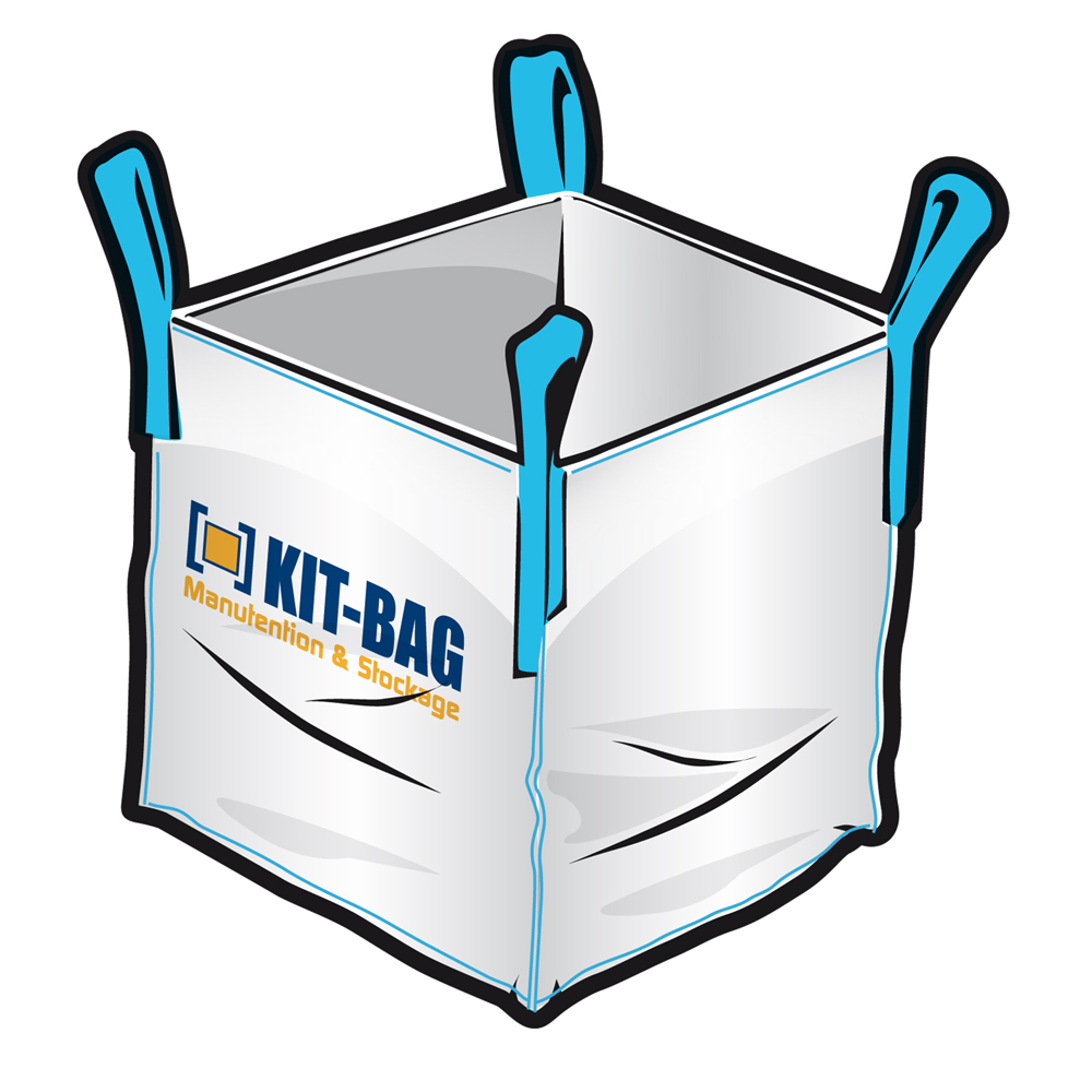 pack 1 kadra bag 20 big bag ocb91x115 kit bag. Black Bedroom Furniture Sets. Home Design Ideas