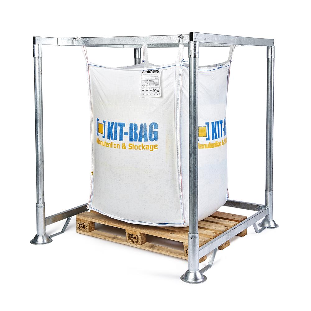 support de maintien pour big bag kit bag. Black Bedroom Furniture Sets. Home Design Ideas