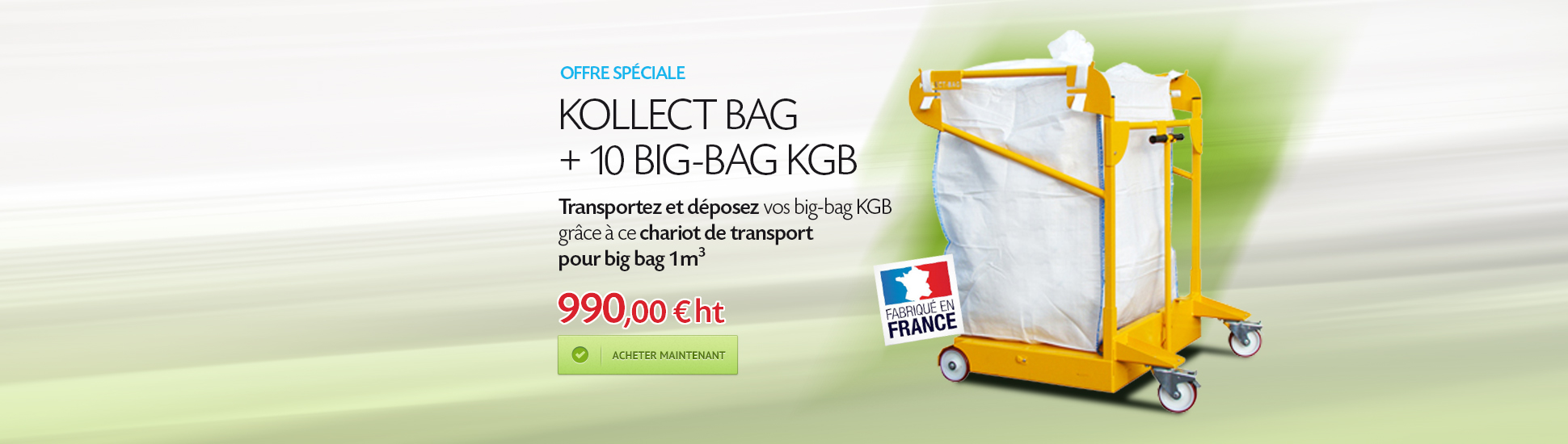Kollect Bag + 10 Big-Bag KGB