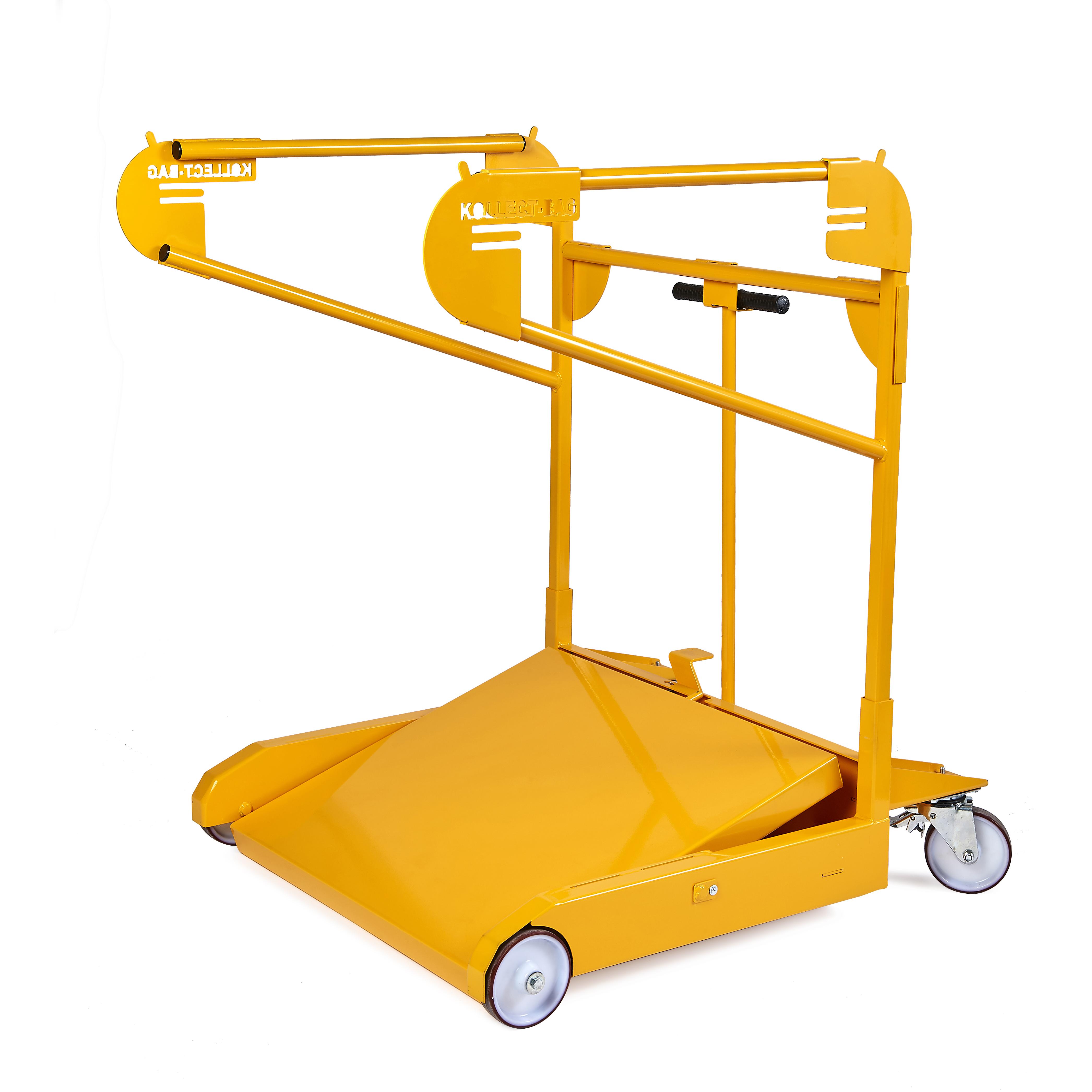 chariot de transport pour big bag kit bag. Black Bedroom Furniture Sets. Home Design Ideas